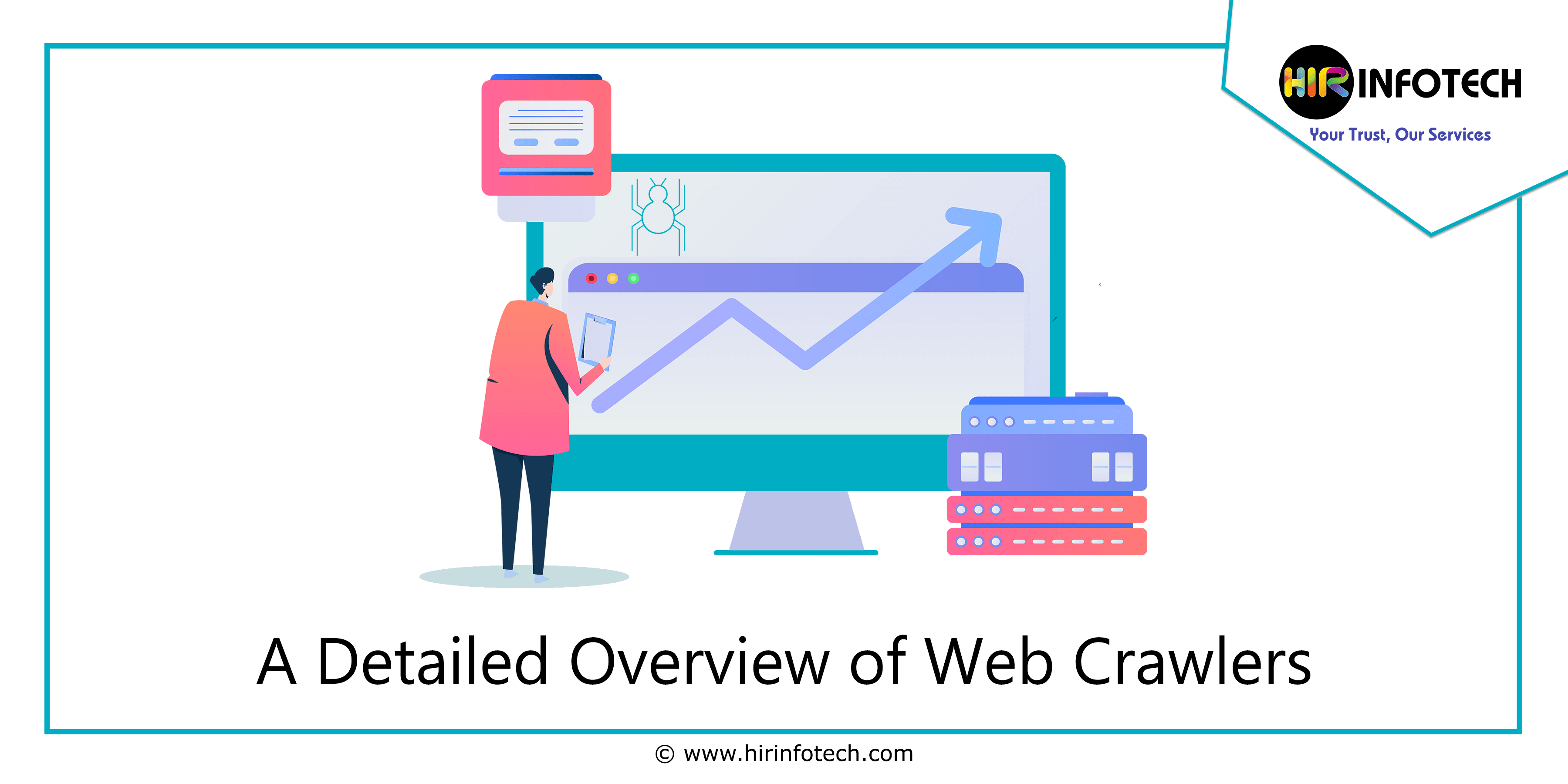A Detailed Overview of Web Crawlers, Spider, Bot