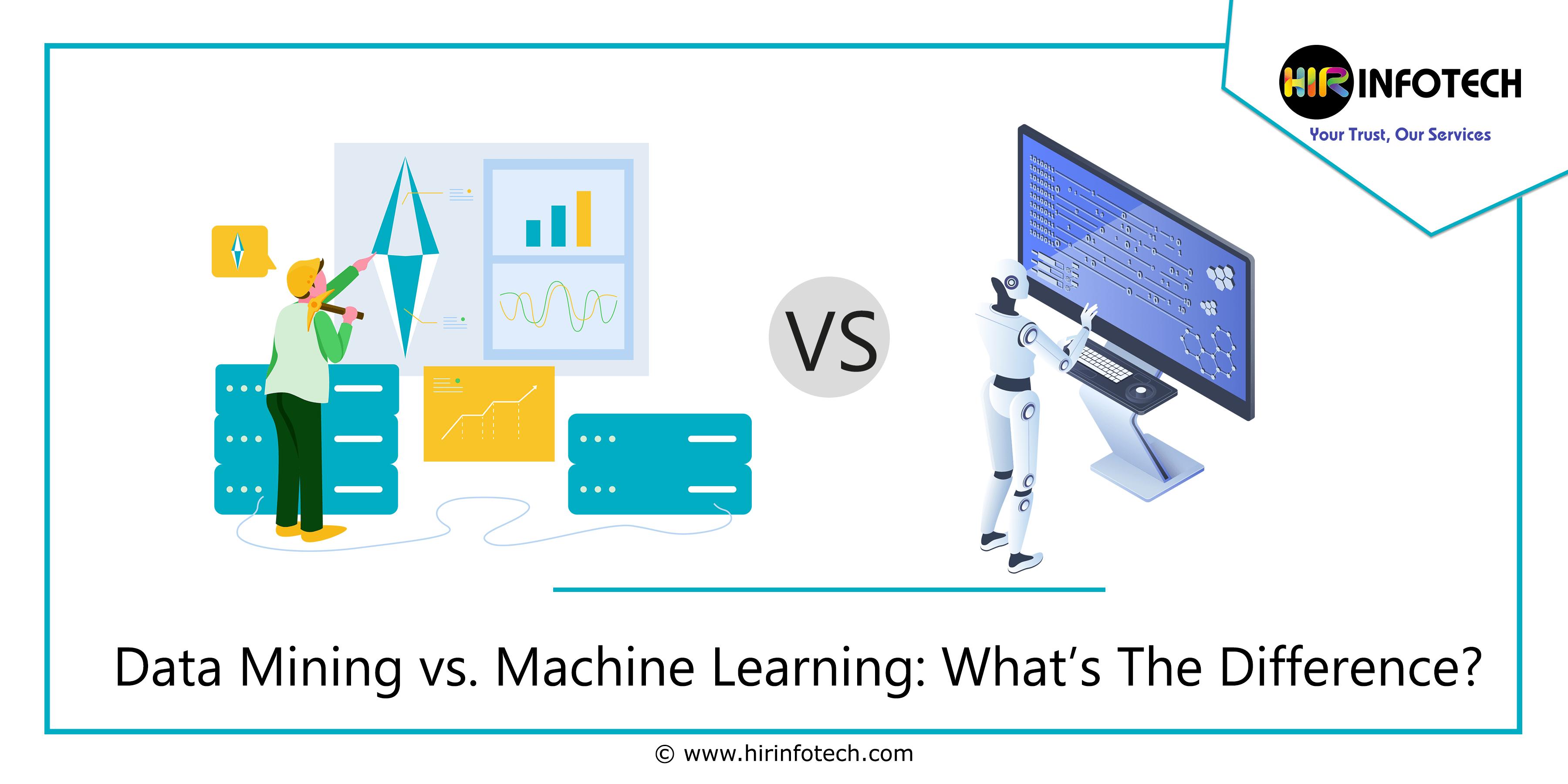 Data Mining vs. Machine Learning