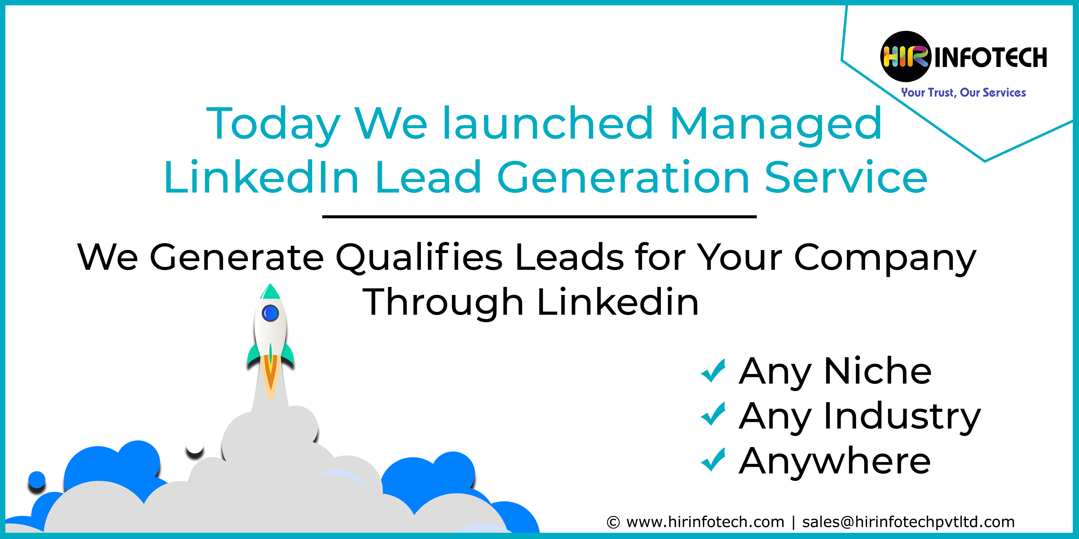 Linkedin Lead generation, b2b Lead gen Agency