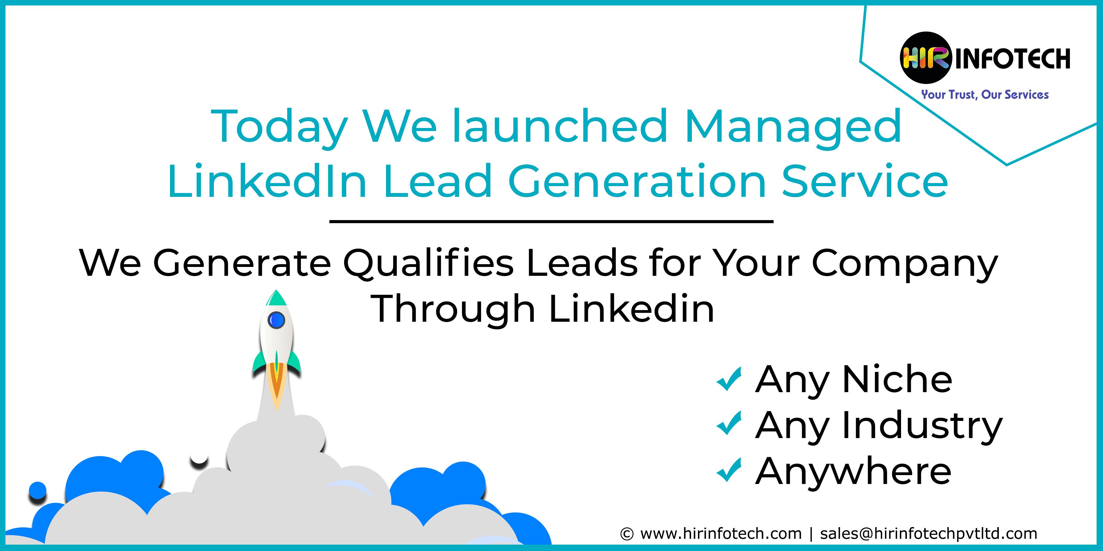 Linkedin Lead generation, b2b Lead gen Agency