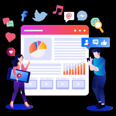 Social Media Analytics, Social Media Management Services