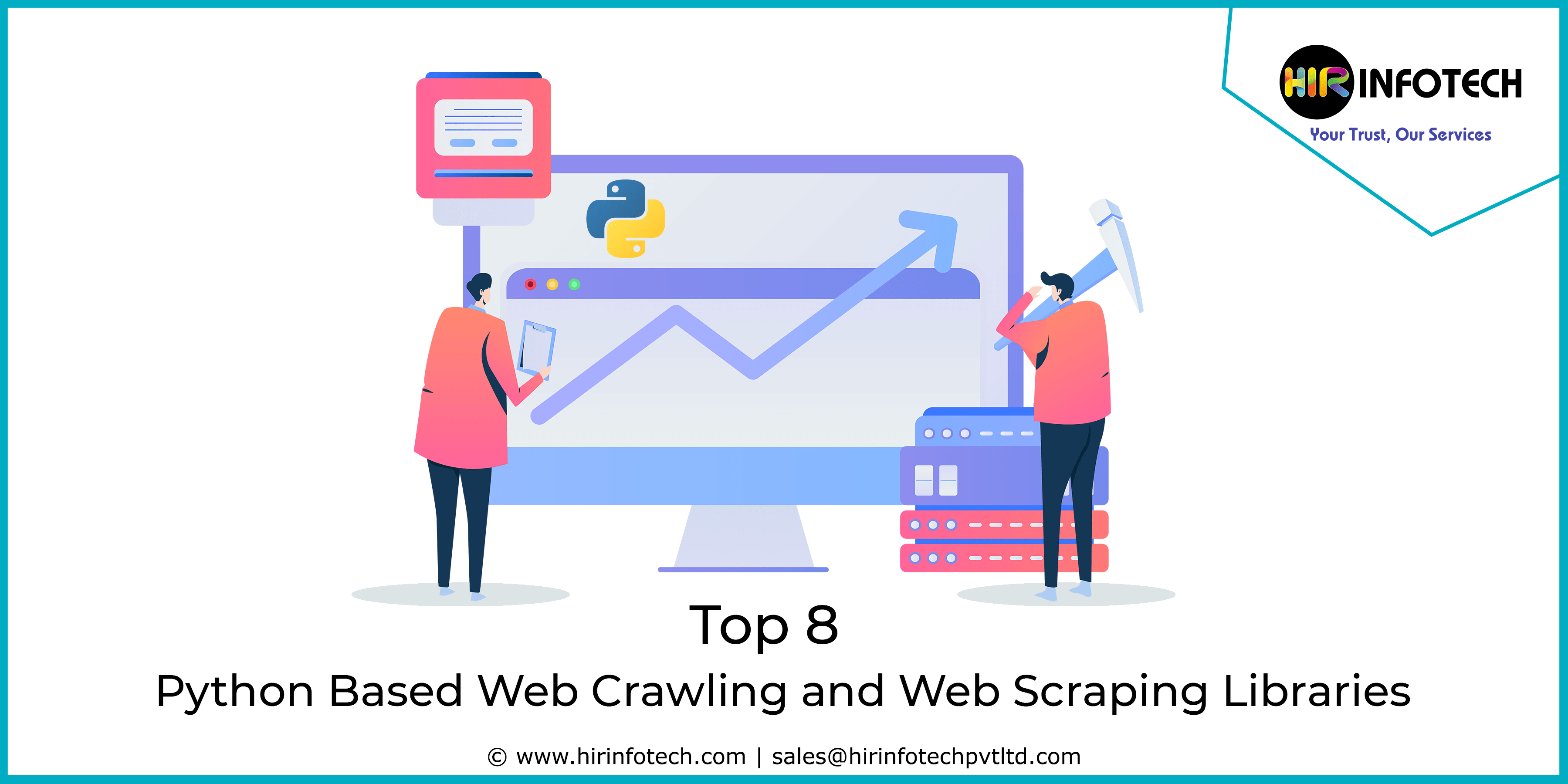 Web Crawling, Web Scraping, Data Mining, Ctawler, Bot, Python