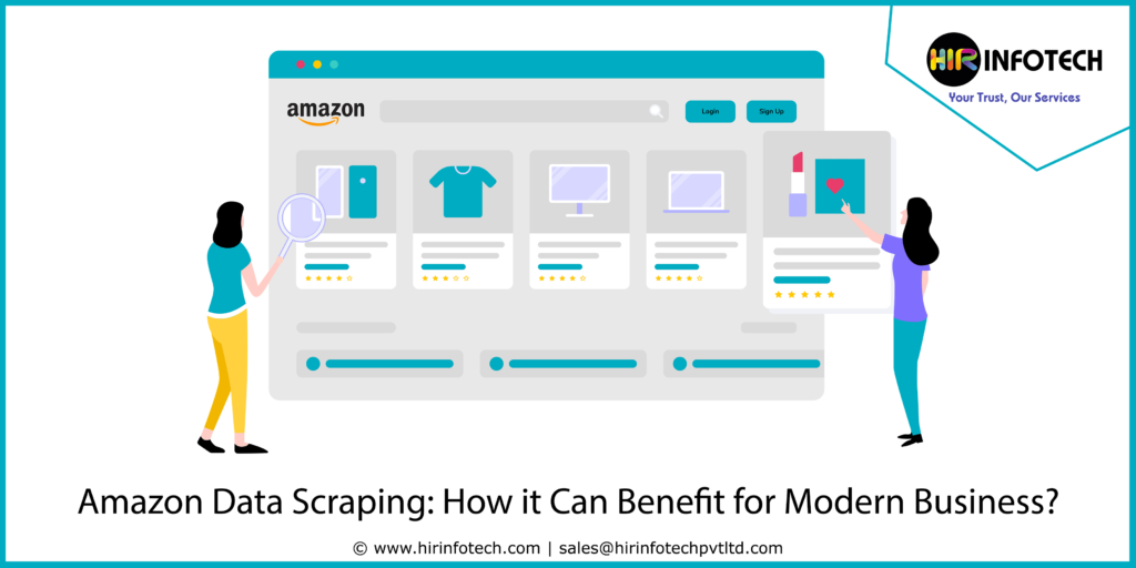 Amazon Data Scraping How it can benefit for modern business