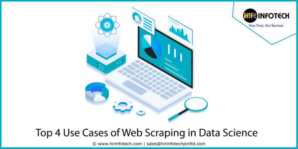 Top 4 use cases of Web Scraping in Data Science | Web Crawling, Data Scientist