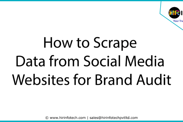 Social Media Scraping, Website Scraper