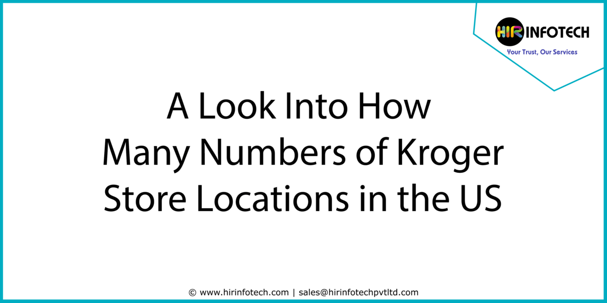 Kroger Store Location in USA